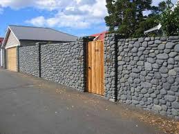 Castle Like Fence Design Stone Houses Natural Stones