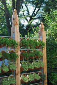 Today I Have Rounded Up Some Creative Outdoor Herb Garden Ideas That Are Sure To Get You Excited For G Outdoor Herb Garden Vertical Vegetable Garden Diy Garden