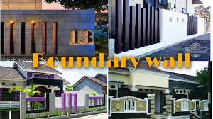 Modern Boundary Wall Design 2020 Fence Ideas Indian Style Youtube