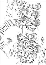 Kids N Fun Kleurplaat My Little Pony My Little Pony