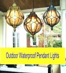 low voltage outdoor pendant lights