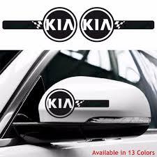 Kia Custom Wing Mirror Body Decals Stickers Soul Sportage Rio Ceed Picanto All Geek