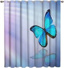 Amazon Com Arts Language Blackout Curtains Grommet Drapes For Boys Girls Kids Bedroom Butterfly Fantasy Aurora Printed Room Darkening Curtains Grommet For Livingroom Office 1 Panel 52x36in Home Kitchen
