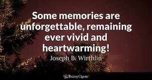 joseph b wirthlin some memories are unforgettable
