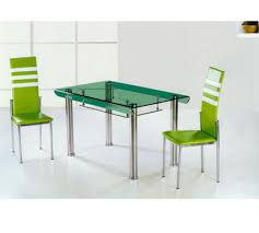 metal glass dining tables extending