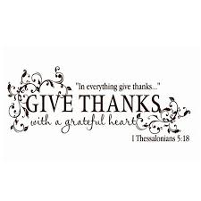 Give Thanks With A Grateful Heart Thanksgiving Vinyl Wall Art Sticker Bible Verse Wall Decals For Home Living Room Decoration Bible Verse Wall Decals Wall Art Stickerswall Decals Aliexpress