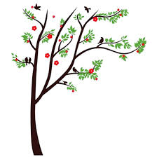 Shop Living Room Detailing Black Diy Mural Family Photo Tree Wall Sticker 5 5ft X 4ft Green Brown Red Overstock 28887534