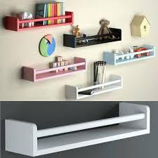 Brightmaison Nursery Book Shelves Floating Wall Shelves Baby White 78 61 Picclick