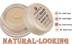 soft touch mousse makeup 01 matte sand