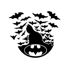 Batman Bats 1 Vinyl Sticker
