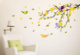 Wall Decals Birds On Wall Decal Tree Branch With Birds Arrow Wall Decor Cute Wall Decor Childrens Wall Decor