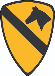 Army 1st Cavalry Division Patch Vinyl Transfer Decal