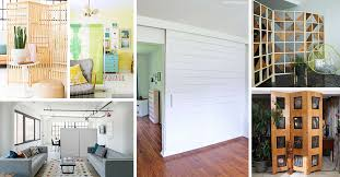 22 Best Room Divider Ideas To Give You Space And Privacy In 2020