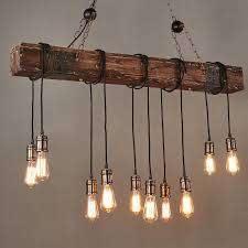 rustic dark distressed wood beam linear