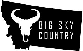 Amazon Com Jb Print Magnet Montana Big Sky Country Vinyl Decal Sticker Car Waterproof Car Decal Magnetic Bumper Sticker 5 Kitchen Dining