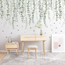 Best Sale 216a29 29 Kinds Big Green Leaves Wall Stickers For Living Room Bedroom Dining Room Decoration Wall Decals Poster Murals Baby Nursery Cicig Co