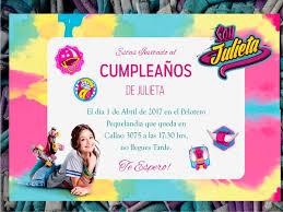 20 Tarjeta Invitacion Cumpleanos Soy Luna 480 00 En Mercado Libre