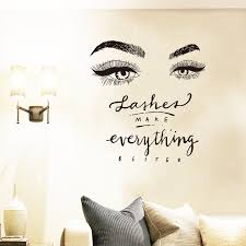 Lashes Make Everythings Better Creative Wall Stickers Ad Affiliate Everythings Lashes Creative Wall Stickers Universe Wall Stickers Sticker Wall Art