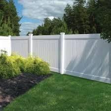 Veranda White Vinyl Linden Pro Privacy Fence Panel Kit Common 6 Ft X 8 Ft Actual 72 5 In X 94 25 In 73 White Vinyl Fence Backyard Fences Fence Design