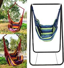 eubell hanging rope hammock chair swing