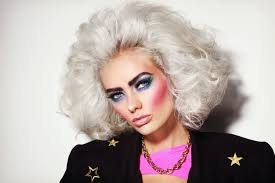 hottest makeup trends of the 1980s