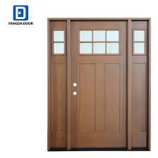 china fiberglass front entrance door w