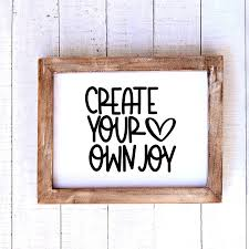 Create Your Own Joy Vinyl Decal This Life Made Easy