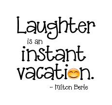 "Laughter Is an Instant Vacation"" Word-Art Freebie 