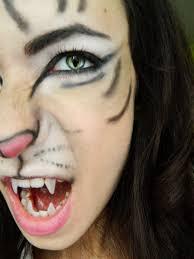 white tiger face makeup saubhaya makeup