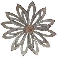 rustic flower metal wall decor hobby