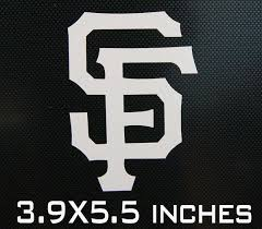 Purchase Sf San Francisco Giants Car Laptop Window Decal Sticker Motorcycle In Brooklyn New York Us For Us 1 19