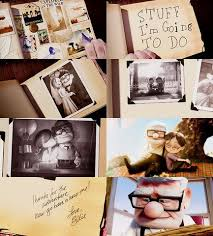 my adventure book scrapbook inspired by the movie up my