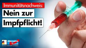 Immunitätsnachweis: Nein zur Impfpflicht! - AfD-Fraktion im ...