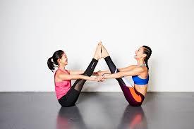 7 fun partner yoga poses to improve