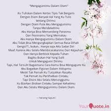 best mengagumidalamdiam quotes status shayari poetry thoughts