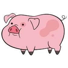Waddles the Pig transparent PNG - StickPNG