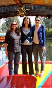 Hillary Taylor ('11), and professors Monique O'Connell and Emily ...