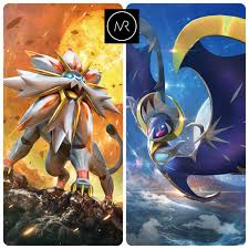 6IV Solgaleo & Lunala Pokemon Sun and Moon 3DS Nintendo Alola ...