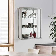 displaysense wall mounted glass display