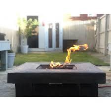 stone propane gas fire pit