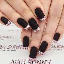 50 dramatic black acrylic nail designs