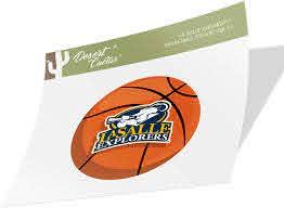 Amazon Com La Salle University Lsu Explorers Ncaa Vinyl Decal Laptop Water Bottle Car Scrapbook Basketball Logo Sticker Arts Crafts Sewing