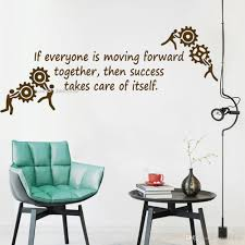 Office Inspirational Quote Lettering Wall Decal Art Posters If Everyone Is Moving Forward Together Words Vinyl Stickers Letter Wall Decals Letter Wall Stickers From Joystickers 8 96 Dhgate Com