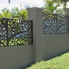 aluminum alloy fence panels for garden
