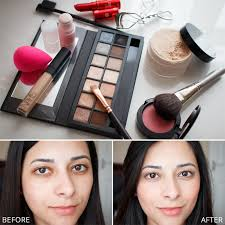 fresh face makeup step by step tutorial
