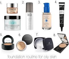 foundation routine for oily skin