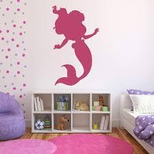 Amazon Com Personalized Ariel Wall Decals Vinyl Wall Art Nursery Little Girls Room Teen Girls Room Decor Bathroom Decor Little Mermaid Handmade