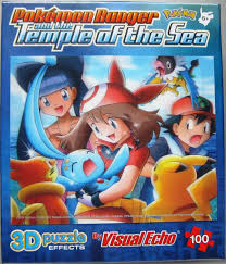 Pokemon Puzzle May With Blue Bunny Movie Pokemon Ranger and the Temple of  the Sea Photo
