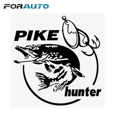 Forauto Car Sticker Creative Fishing Silhouette Pattern For Window Decoration Auto Fish Decals Car Styling 14 5cm 15cm Shop The Nation