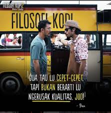celoteh kiky review film filosofi kopi
